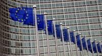 vlaggen voor Berlaymont Building