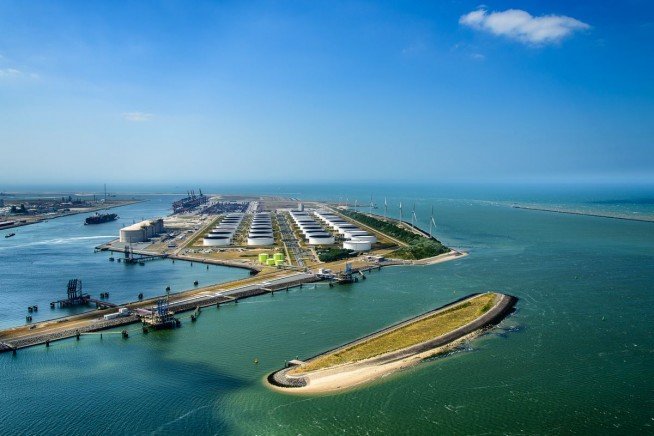 Haven Rotterdam Beereiland SWART