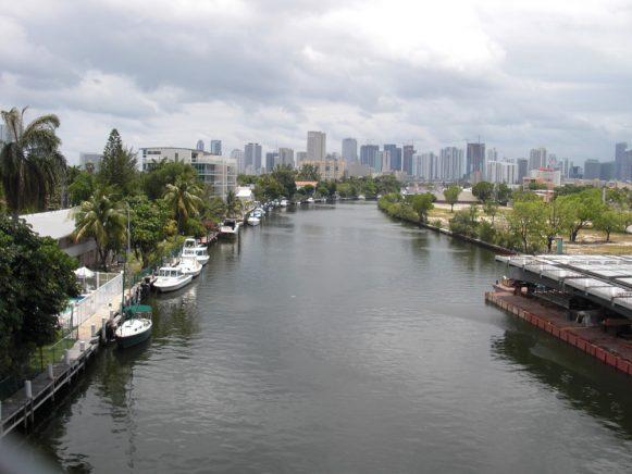 De Miami River. (foto Rheaume Martin)