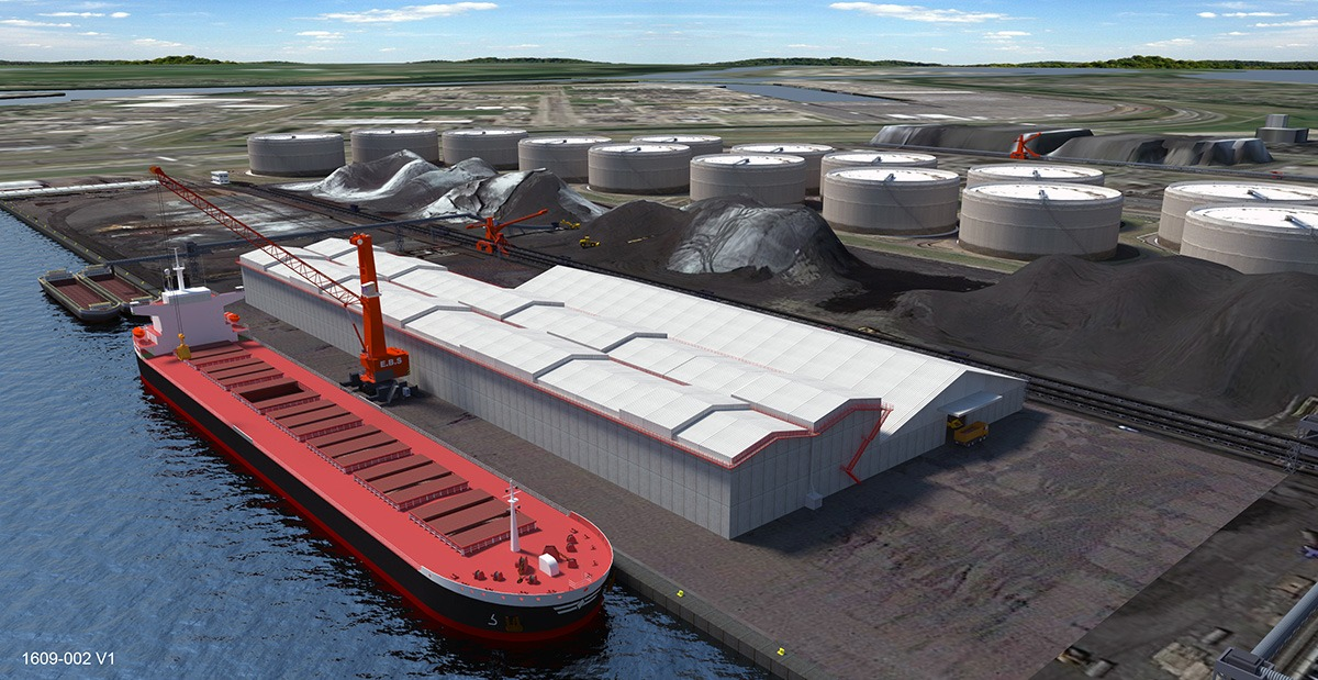 Ebs meer gesloten opslagcapaciteit de binnenvaartkrant for Ebs rotterdam